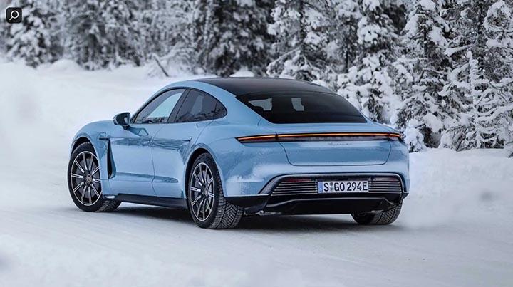 Xe chạy hoàn toàn điện Porsche Taycan 4S