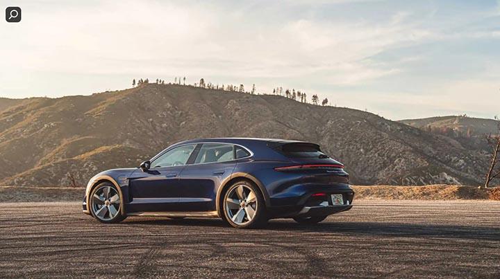 ô tô chạy hoàn toàn bằng điện Porsche Taycan Cross Turismo Turbo