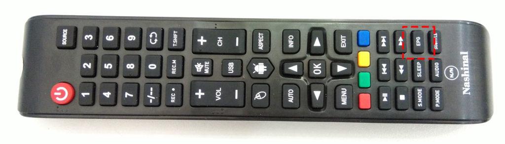 Hình ảnh điều khiển tivi nashinal