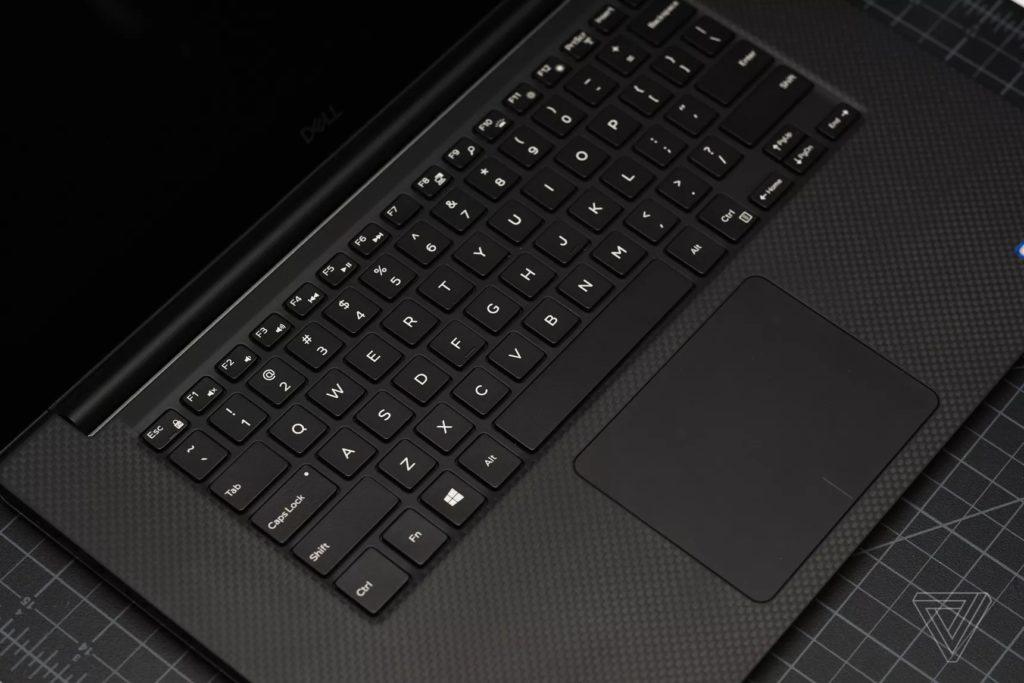 Bàn phím và bàn di chuột Dell XPS 15 7590