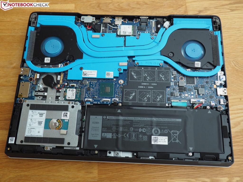 Linh kiện bên trong Dell G5 15 5590 – Laptop Gaming tầm trung