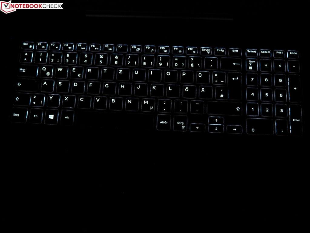 Đèn nền bàn phím Dell G5 15 5590 – Laptop Gaming tầm trung