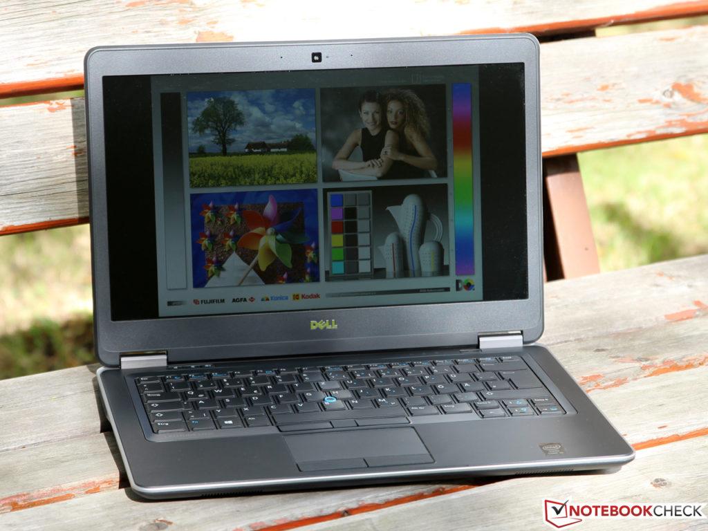 Dell Latitude E7440 Sử dụng ngoài trời