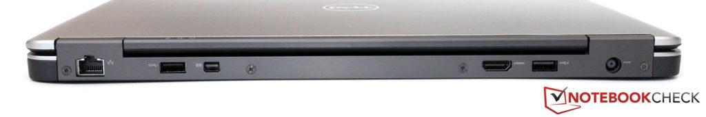 Mặt sau Dell Latitude E7440