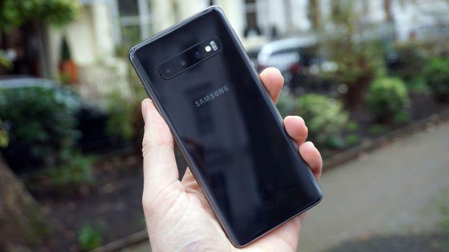 Mặt lưng Samsung Galaxy S10