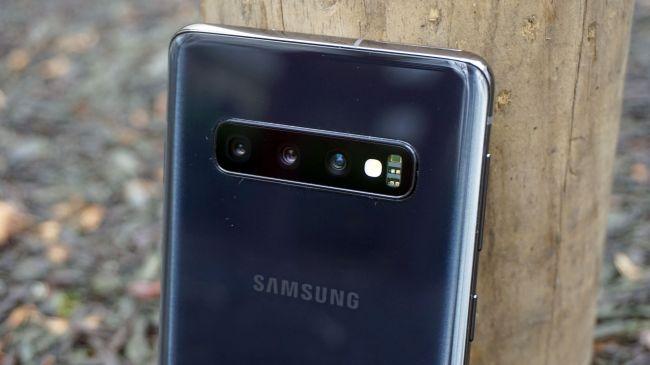 Cụm máy ảnh trên Samsung Galaxy S10