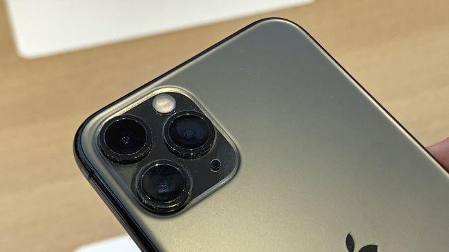Cụm máy ảnh trên iPhone 11 Pro