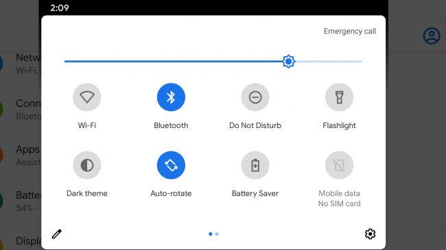 Cách bật chế độ tối Android - Cài đặt nhanh