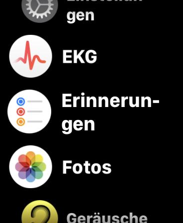 Giao diện người dùng Apple Watch Series 5