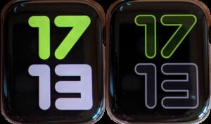 Apple cài đặt sẵn mười mặt số đồng hồ