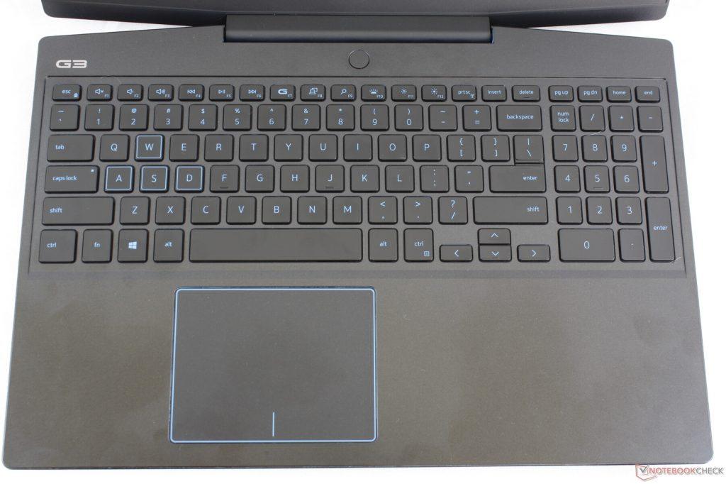 Bàn phím và bàn di chuột Dell G3 15 3590