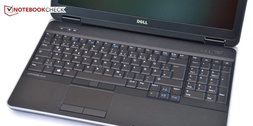 Bàn phím và bàn di chuột Dell Latitude E6540