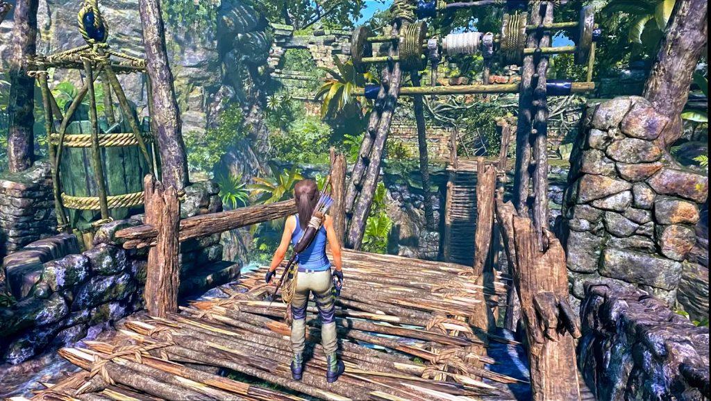 Shadow of the Tomb Raider trên Stadia