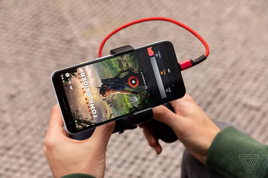 Google Stadia chạy với Smart phone