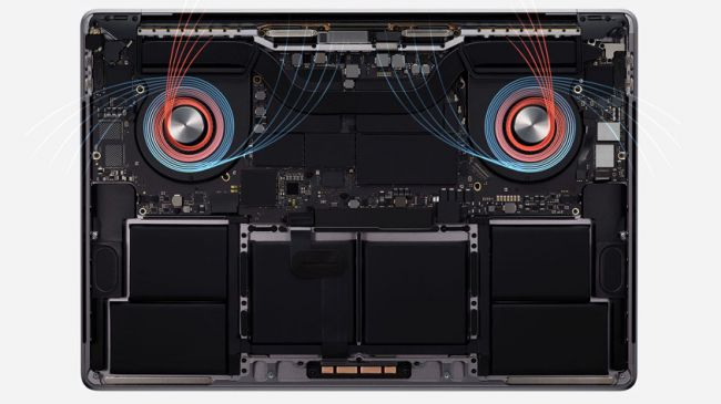 Hệ thống thản nhiệt được thiết kế lại của Apple