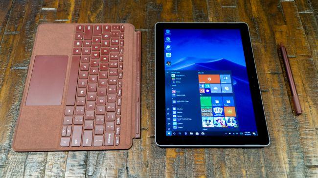 Microsoft Surface Go máy tính bảng tốt nhất năm 2019