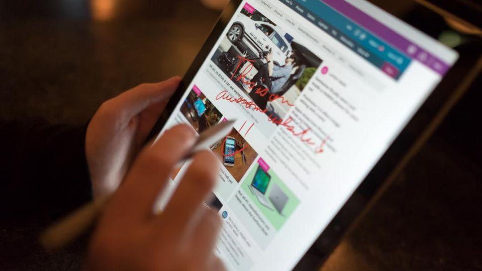 4. Microsoft Surface Pro 7