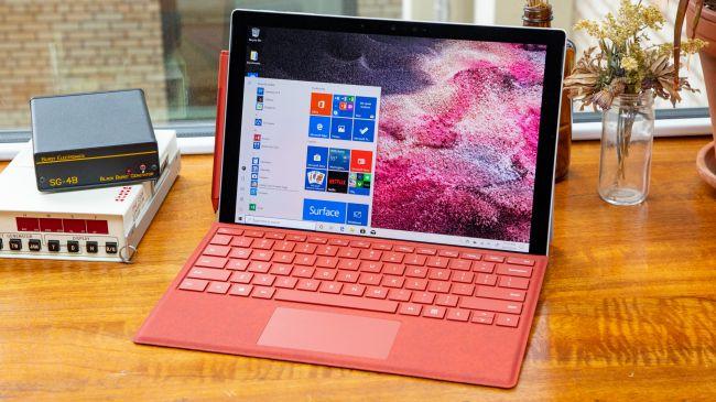 Surface Pro 7 máy tính bảng tốt nhất năm 2019