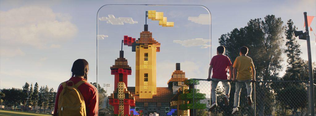Microsoft phát hành bản thử nghiệm Minecraft phiên bản thực tế ảo AR