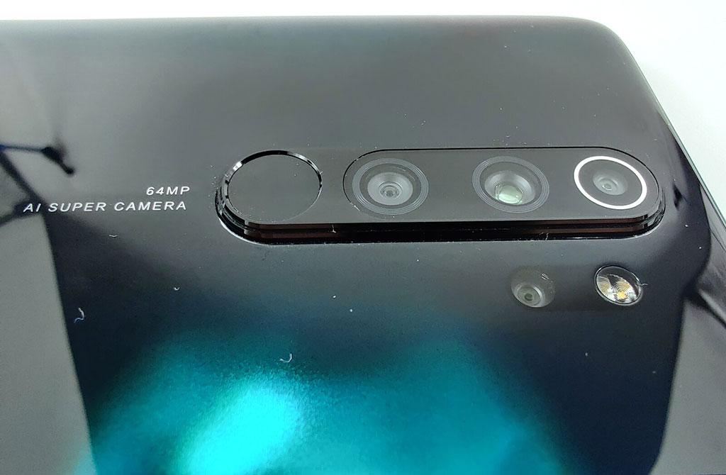 Cụm camera chính trên Redmi Note 8 Pro
