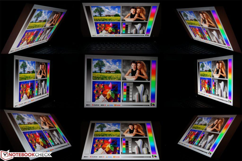 Minh họa góc nhìn màn hình Dell Precision 5510