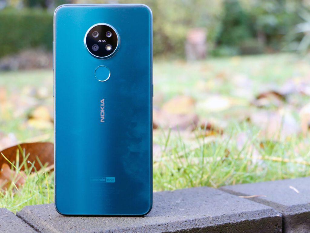 Thiết kế mặt sau Nokia 7.2