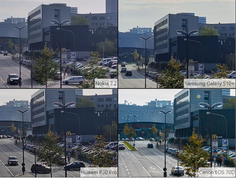 So sánh ảnh chụp camera Nokia 7.2