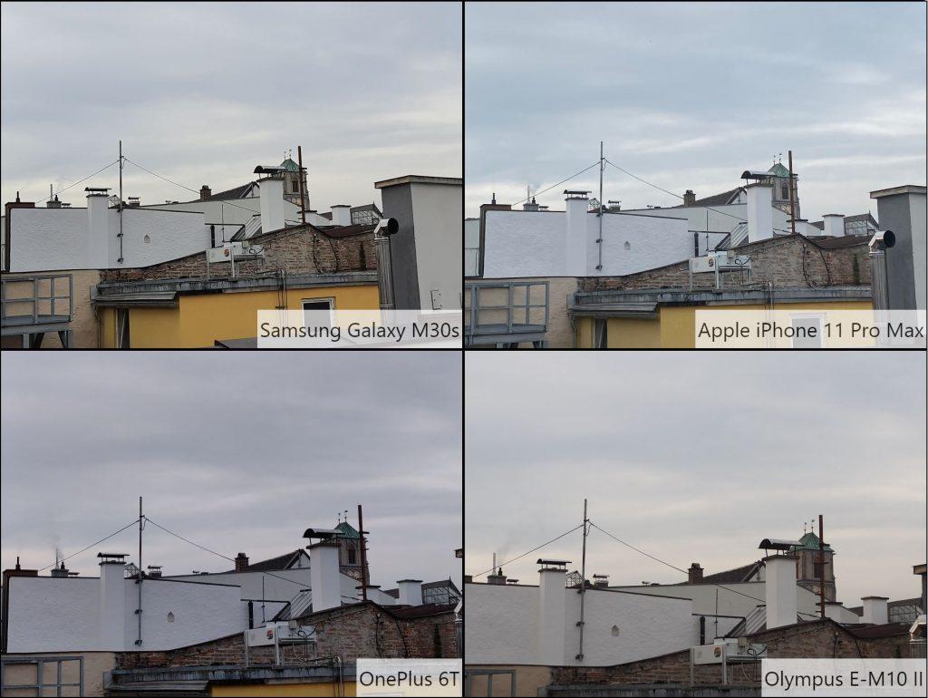 So sánh ảnh chụp Samsung Galaxy M30s dưới điều kiện hơi thiếu sáng