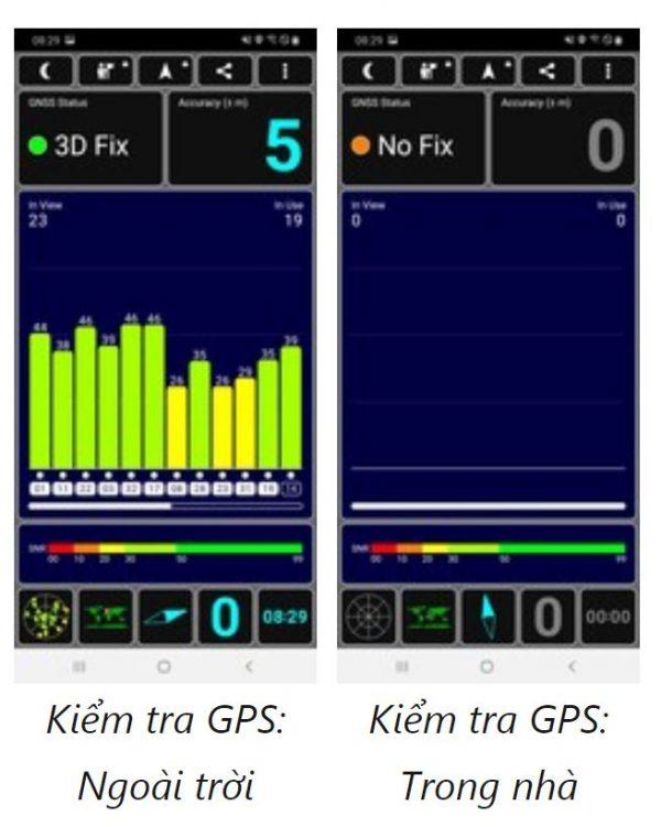 Thử nghiệm GPS Samsung Galaxy M30s