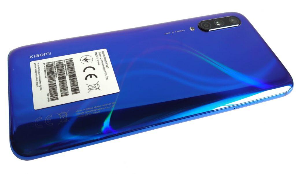 Thiết kế Xiaomi Mi 9 Lite
