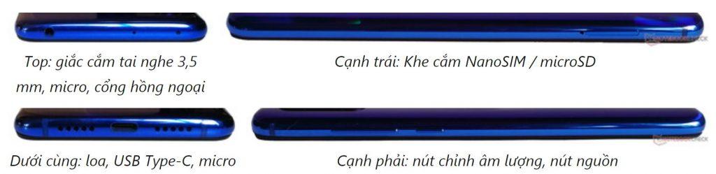 Cổng kết nối Xiaomi Mi 9 Lite