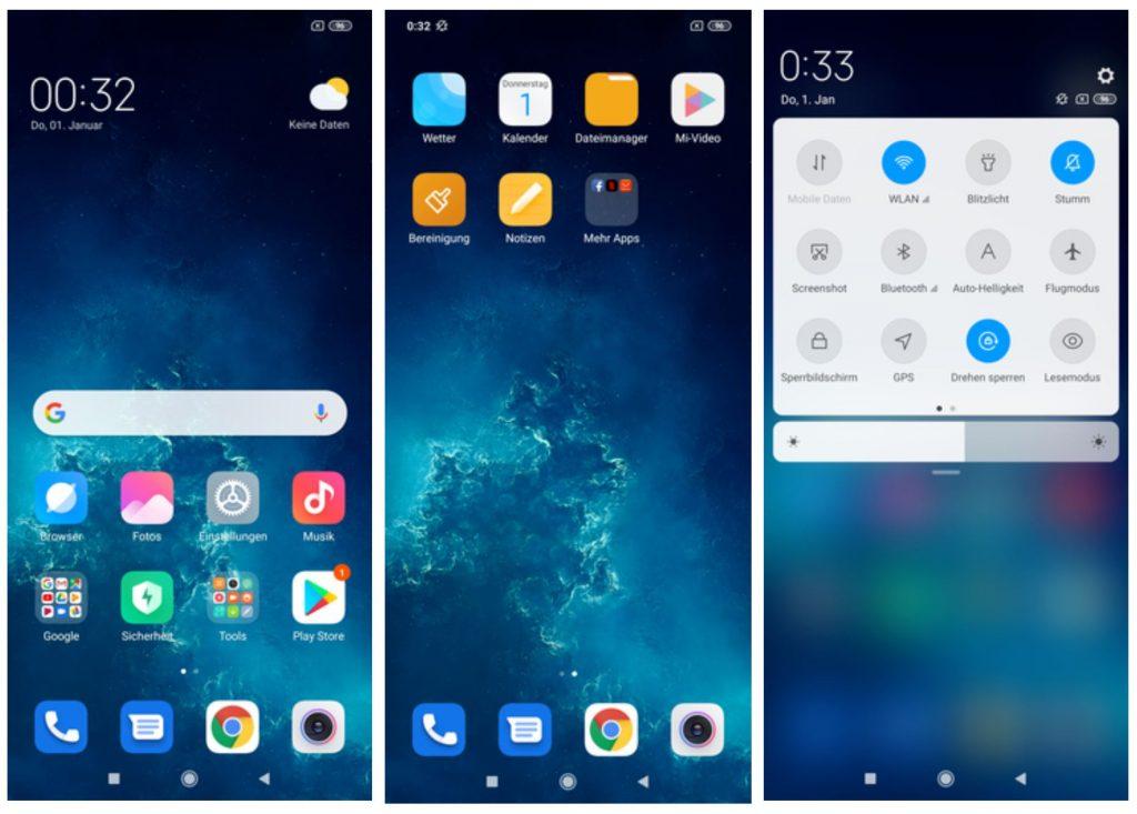 Phần mềm Xiaomi Mi 9 Lite