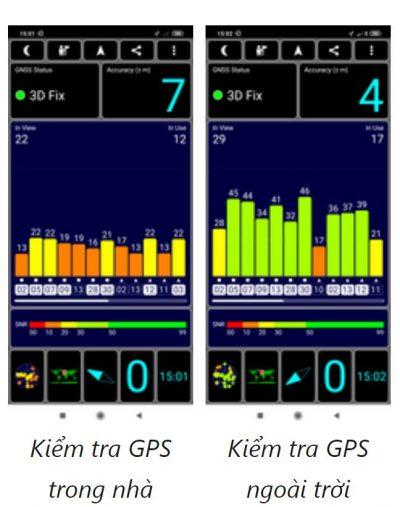 khả năng định vị của Xiaomi Mi 9 Lite