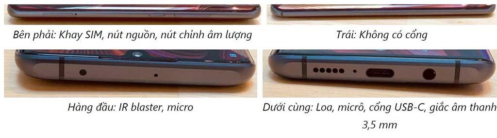Cổng kết nối Xiaomi Mi Note 10