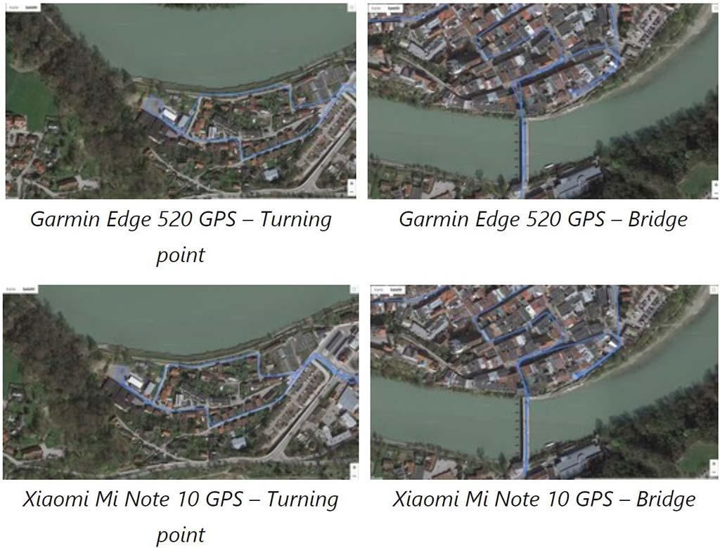 Kết quả thử nghiệm GPS Xiaomi Mi Note 10