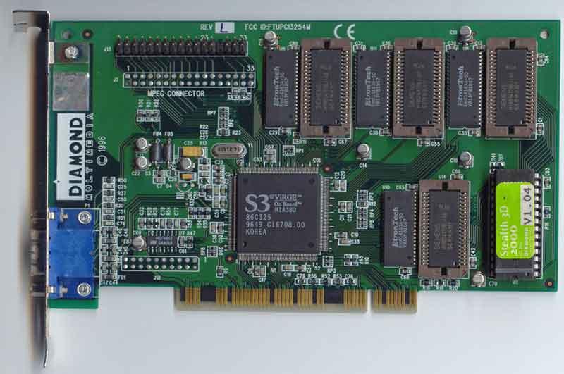 GPU S3 những năm 1990