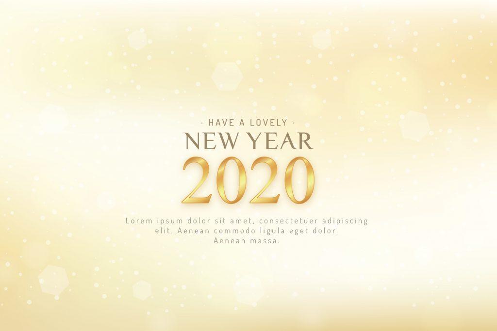Phông nền, hình nền background đẹp cho tết 2020 - chúc mừng năm mới