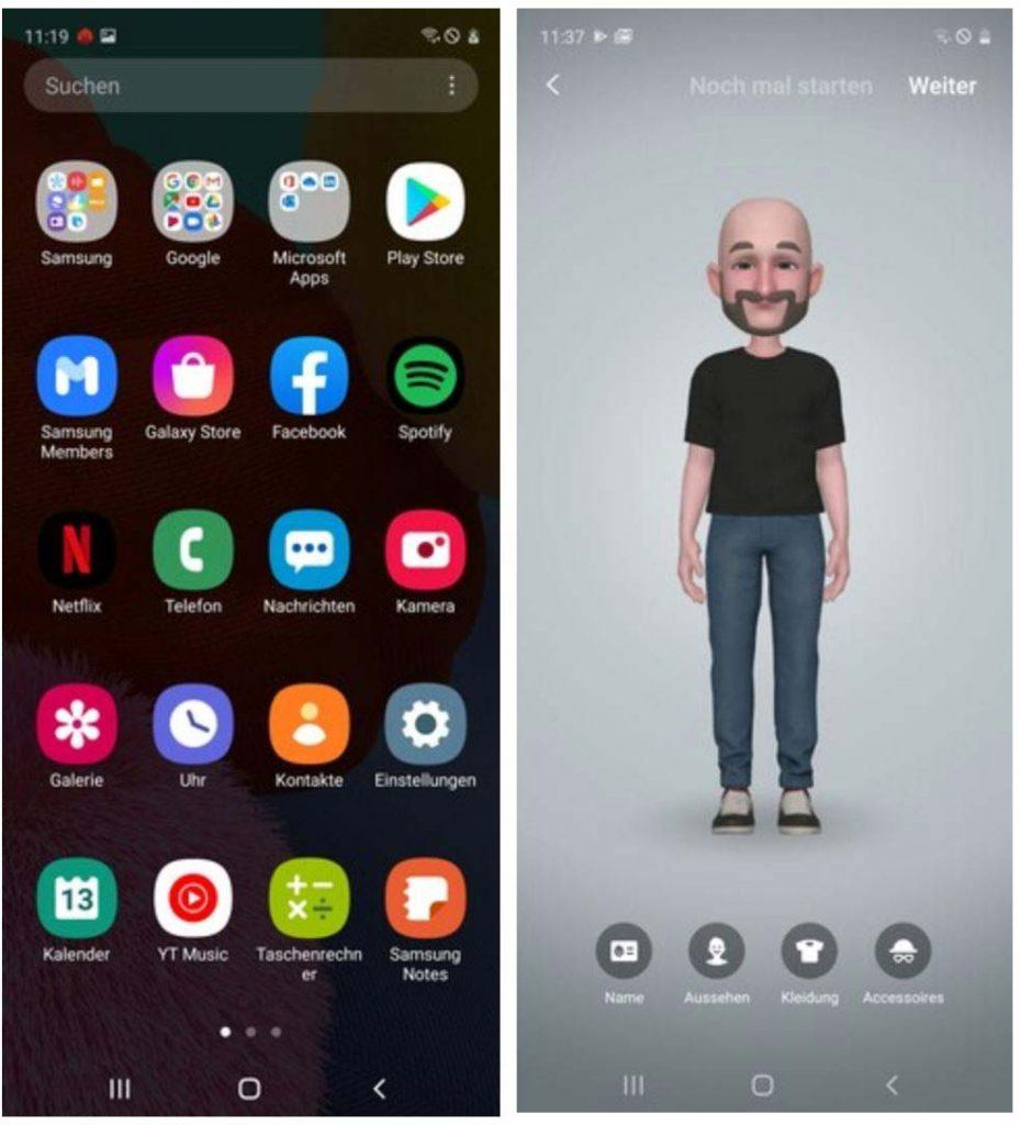 Galaxy A51 với giao diện OneUI