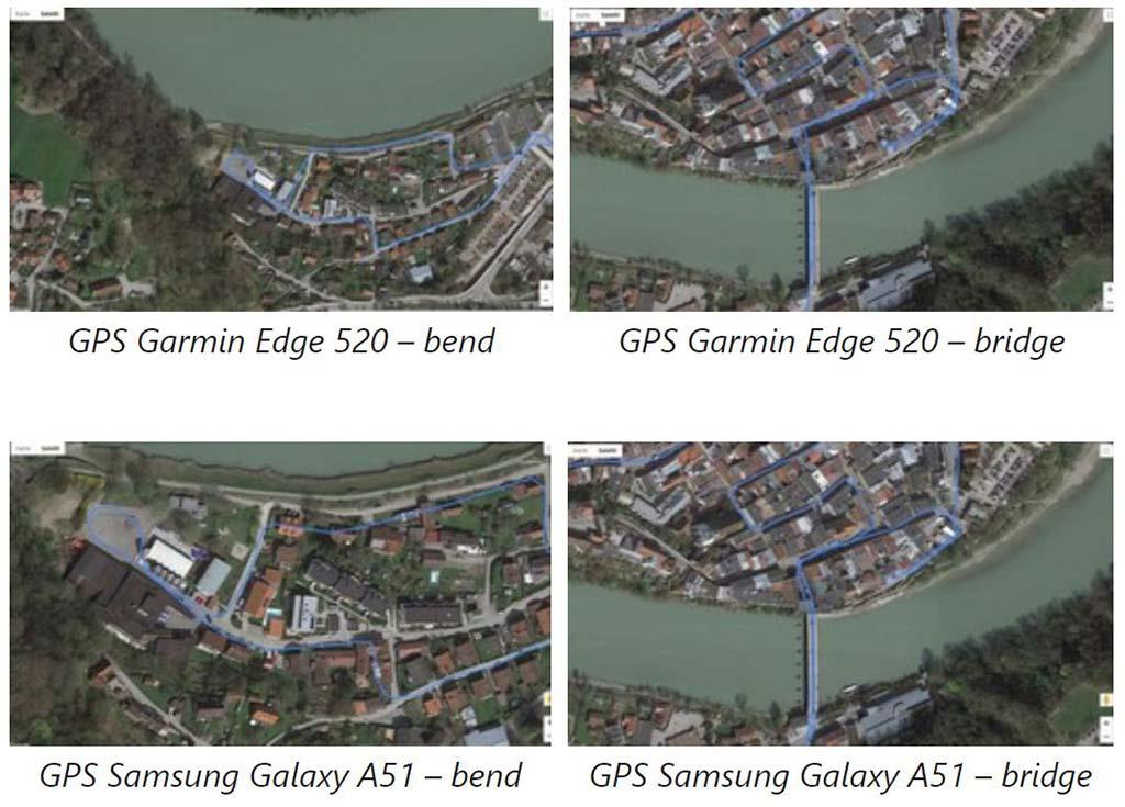 Kết quả thử nghiệm GPS Samsung Galaxy A51