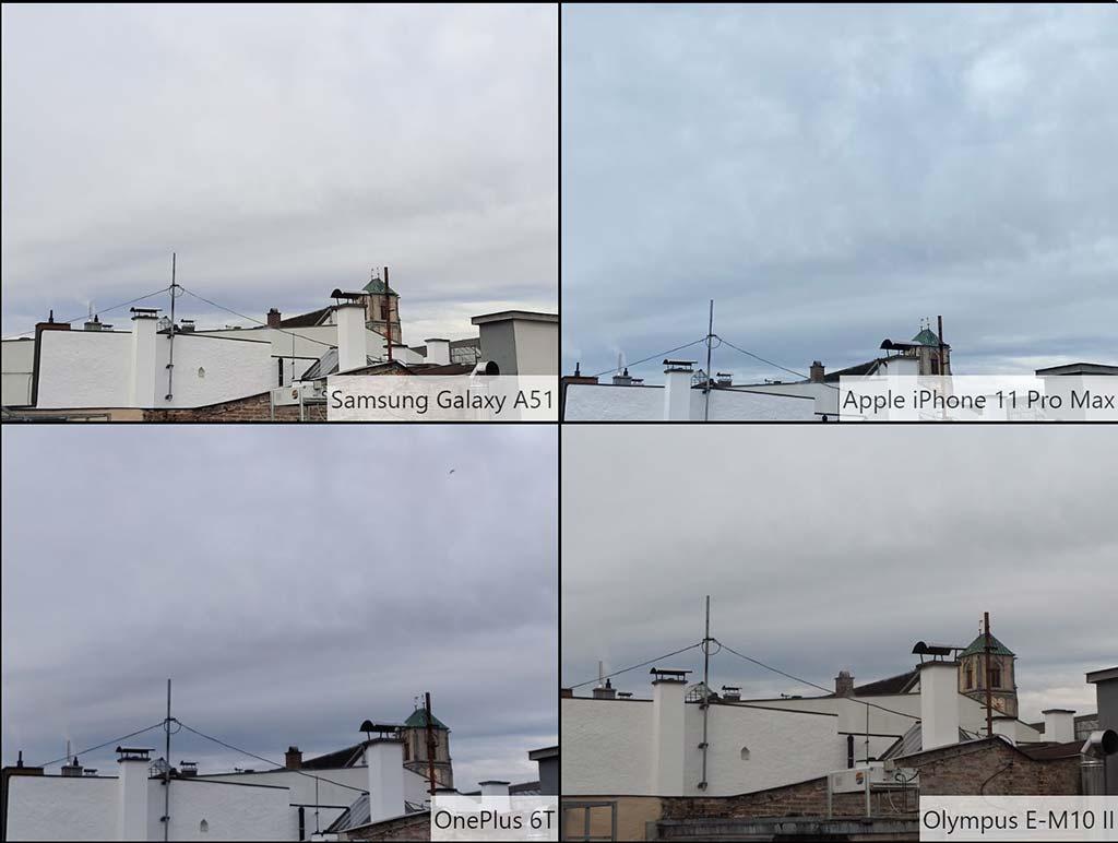 So sánh ảnh chụp Samsung Galaxy A51