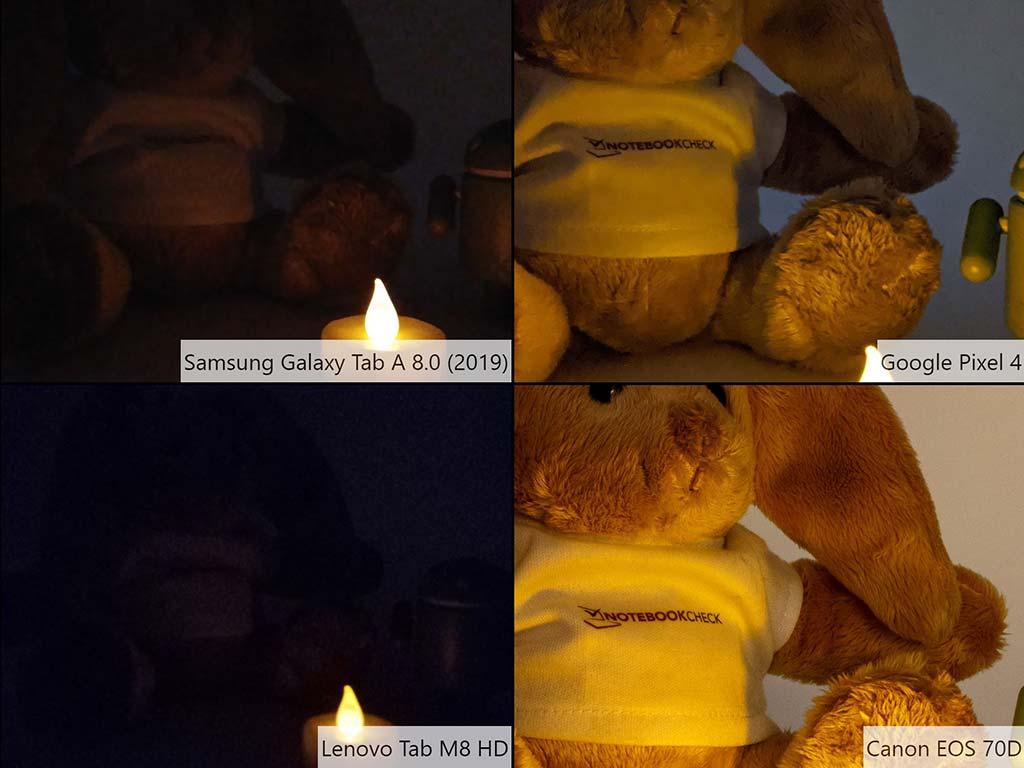 So sánh ảnh chụp Samsung Galaxy Tab A8.0 (2019)