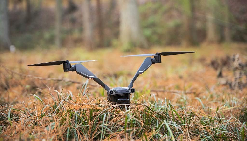 Drone V-Coptr Falcon với thiết kế hai cánh quạt cho thời lượng bay ấn tượng