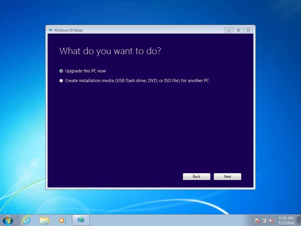 Hướng dẫn nâng cấp miễn phí từ Windows 7 lên Windows 10