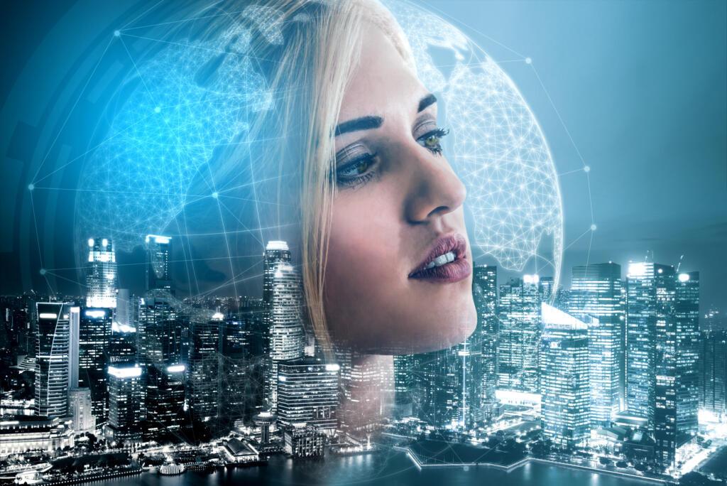 Hình nền tương lai ảo