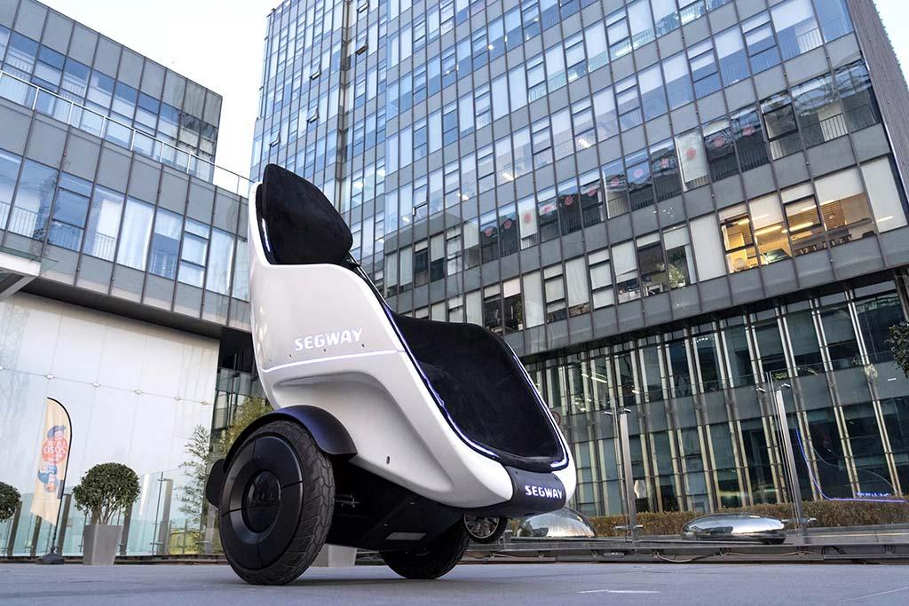 Xe tự cân bằng mới của Segway gợi nhớ đến bộ phim Wall-E