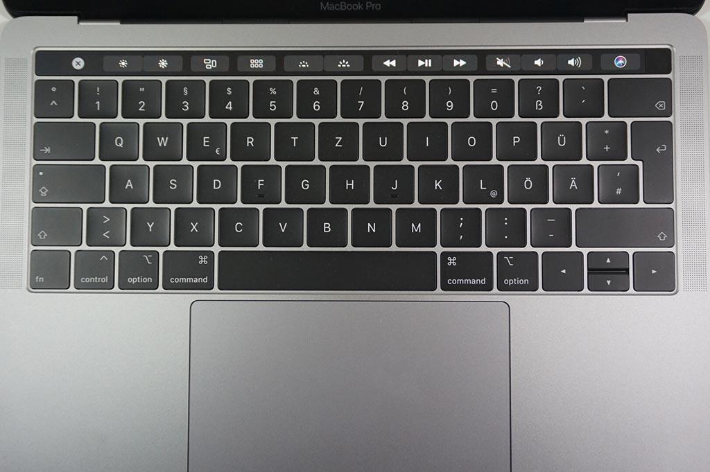 Thiết bị đầu vào - MacBook Pro 13 với Touch Bar