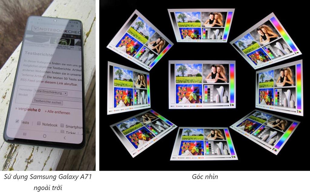Màn hình Samsung Galaxy A71