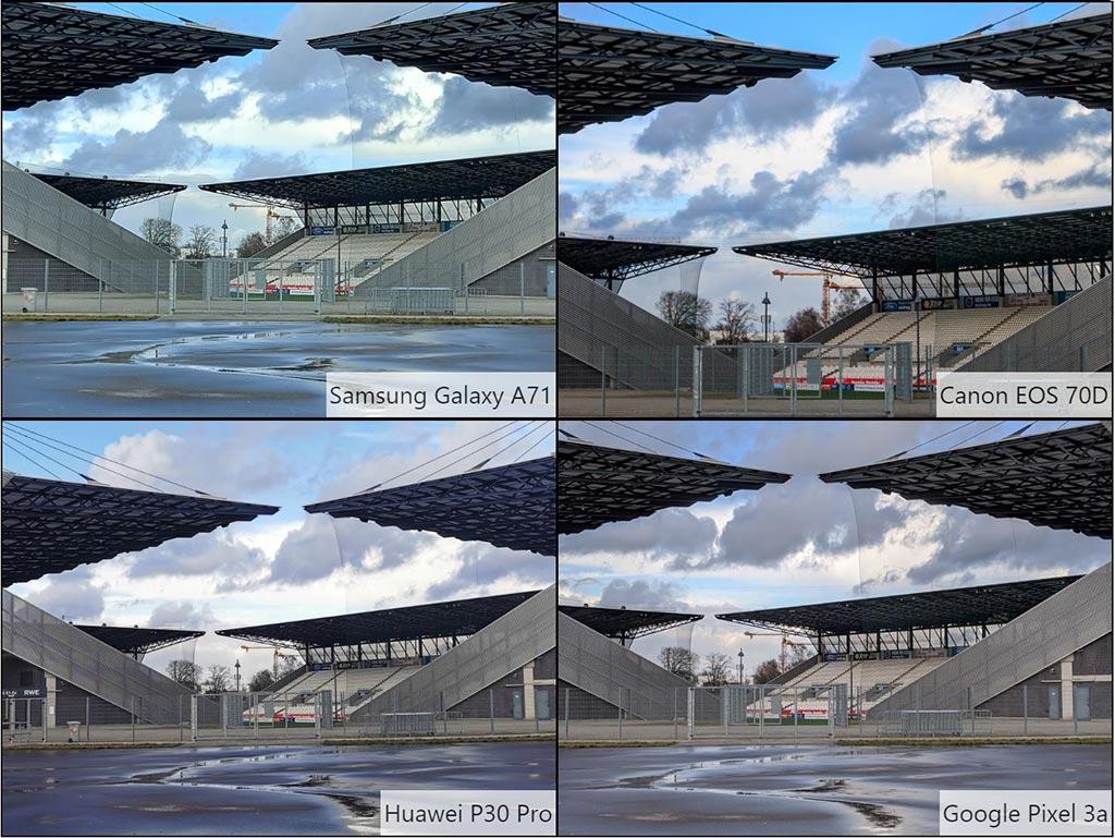 So sánh ảnh chụp Samsung Galaxy A71