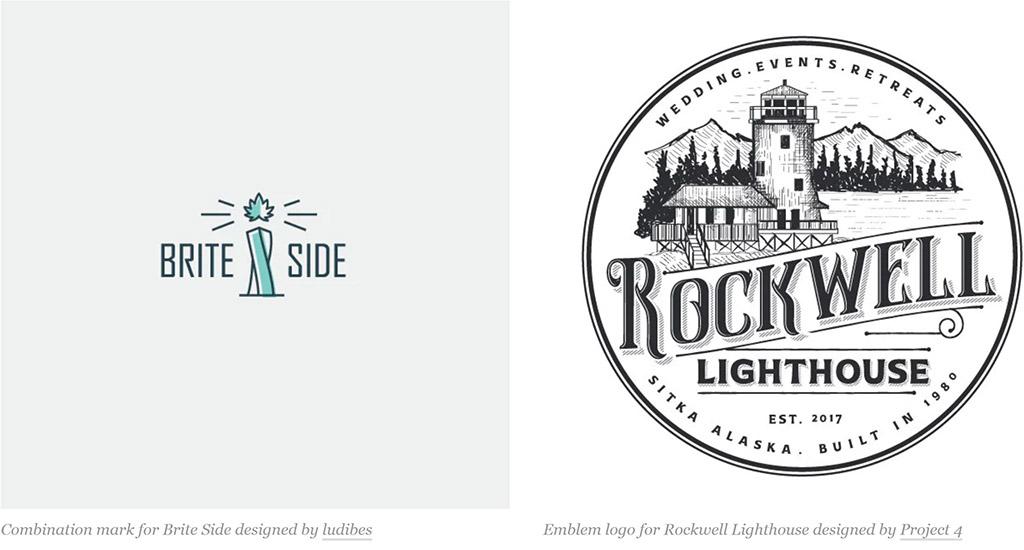 Trọn đúng kiểu logo – các loại logo