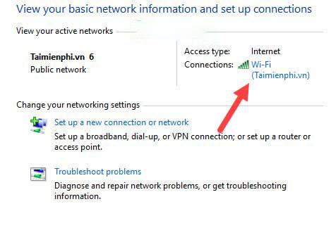 Cách xem mật khẩu WiFi với Windows 10
